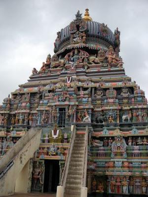 Gopuram of Koodal Azhagar