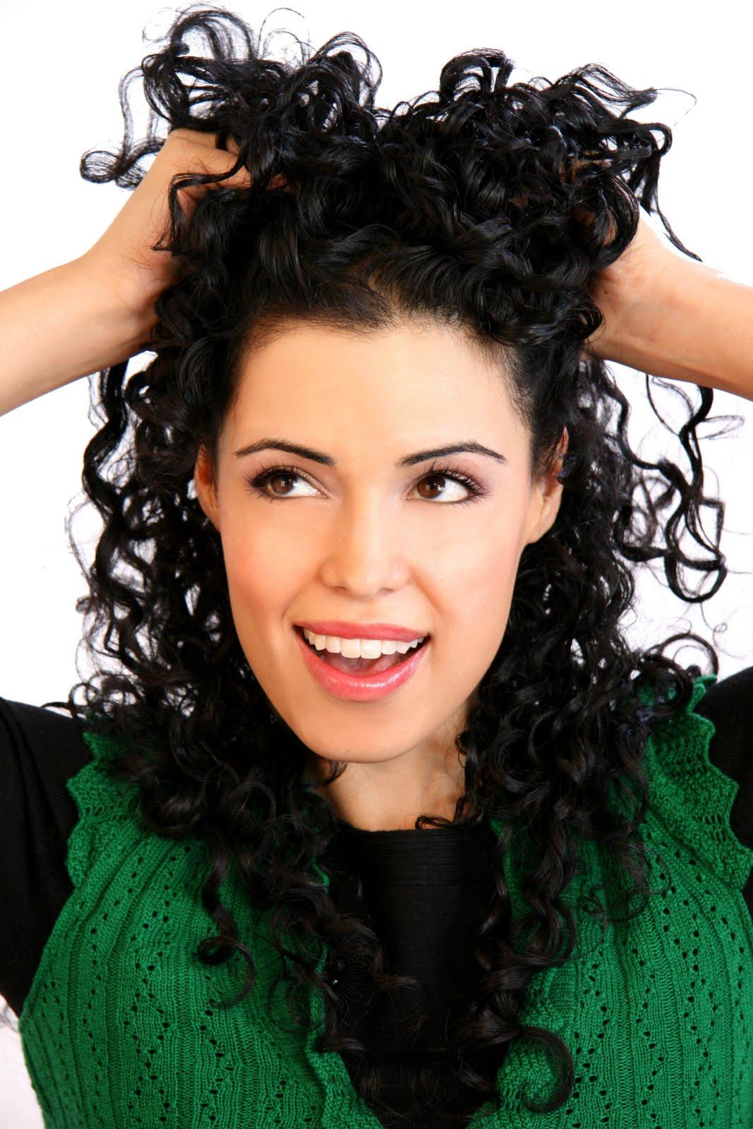 Укладка волос в домашних условиях кудрявые волосы