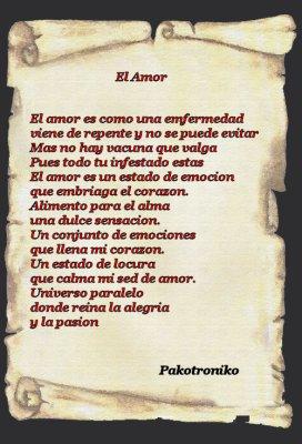 Poema al amor