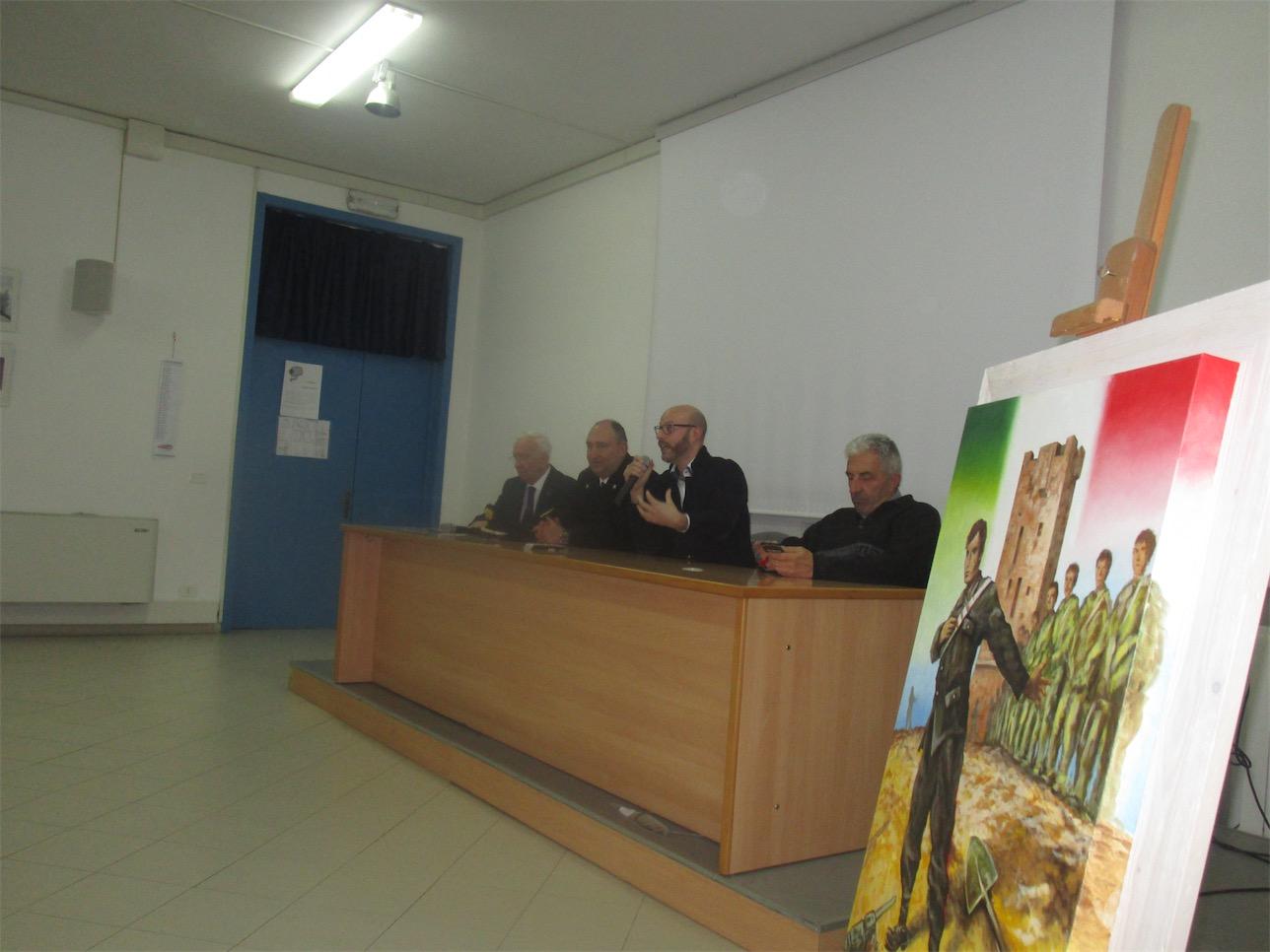 CERIMONIA PER IL 75° ANNIVERSARIO DEL SACRIFICIO DI SALVO D'ACQUISTO