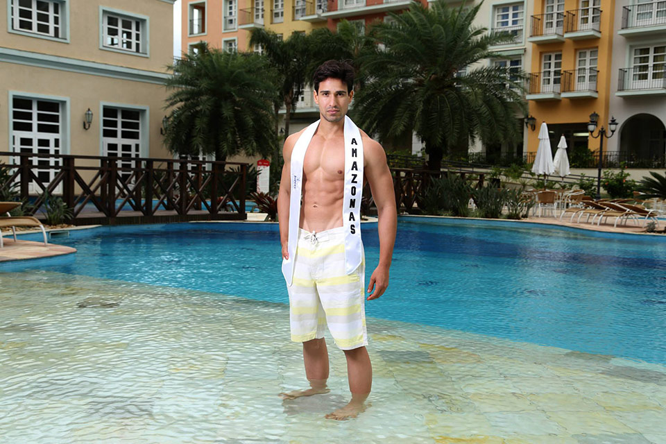 Mister Amazonas - Mauro Emiliano, 24 anos, 1,87 m - Foto: Leonardo Rodrigues