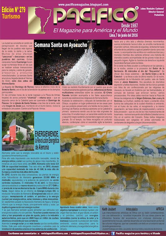 Revista Pacífico Nº 279 Turismo