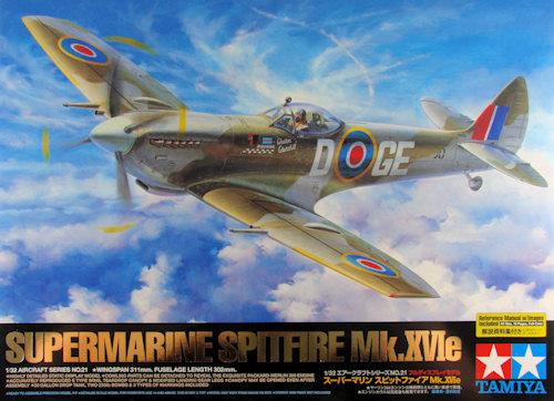 Tamiya 1/32 Spitfire Mk.XVIe