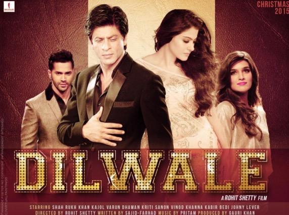 Treler Dilwale, filem baru Shah Rukh Khan dan Kajol tarik perhatian