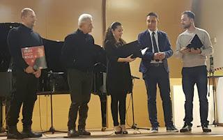 Premiazione Amedeo Minghi