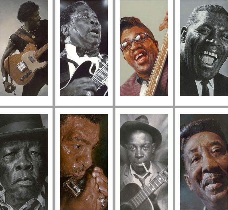 Blues Legends - New Pop Realism - Sebastian Krüger 1963