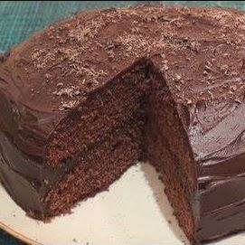 bolo decadente de chocolate
