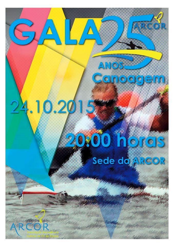 Gala dos 25 anos da Canoagem da Arcor