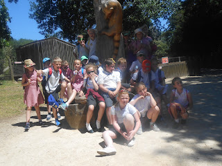 meon school year 4 trip to marwell zoo hampshire