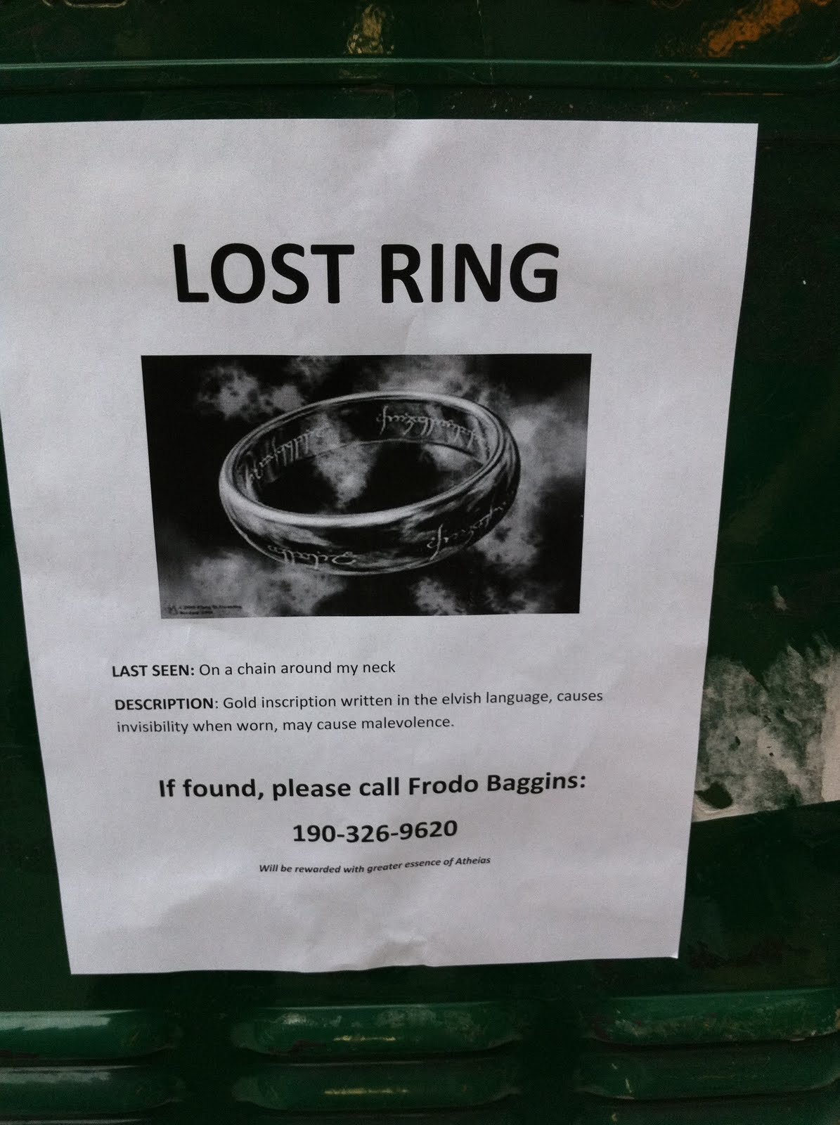Ring My Lost Phone