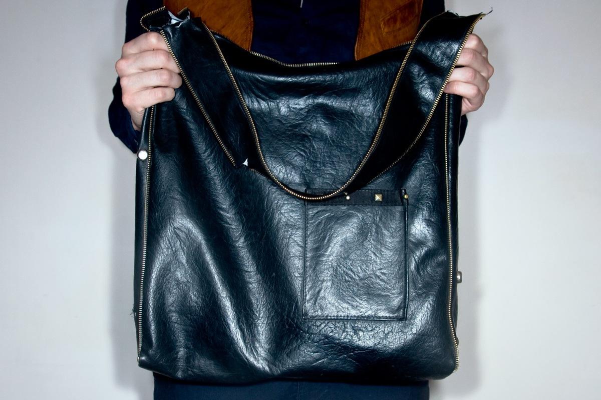 Как сшить женскую кожаную сумку своими руками 32