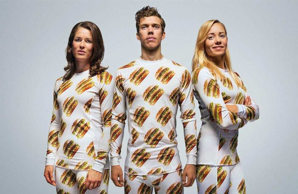 MCDONALD'S até já vende roupa na Suécia