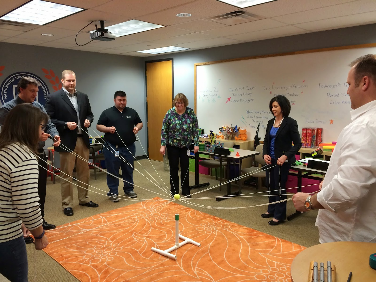The Eureka Games: Team Building with Insurance Intermediaries Inc ...
