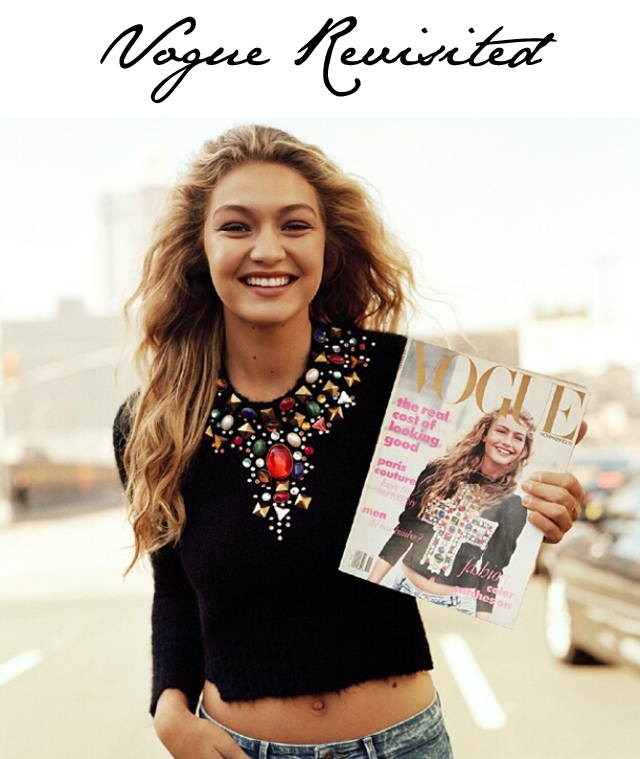 Gigi Hadid Vogue Cover