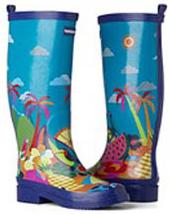 botas de lluvia havaianas