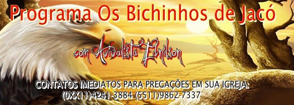 Programa OS BICHINHOS DE JACÓ