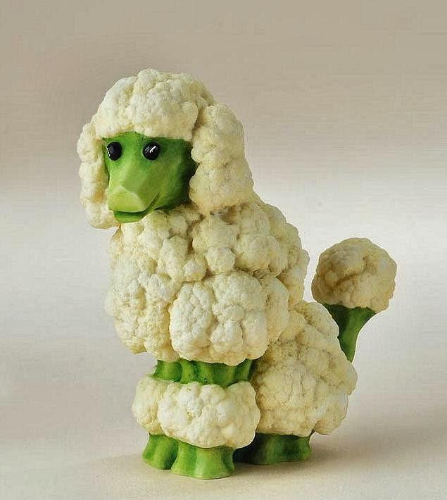 14 Gambar Kreatif Haiwan Dibuat Dari Sayur Dan Buah | Info Pelik