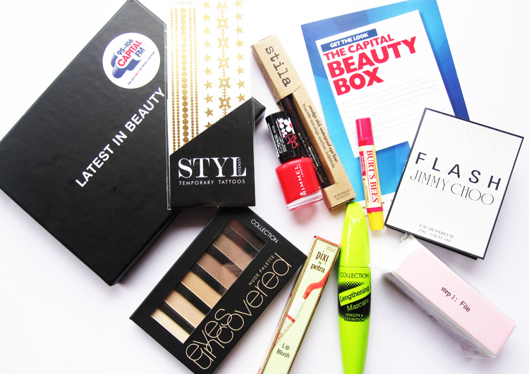 Latest In Beauty - The Capital FM Beauty Box