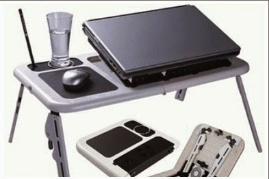 Jual Meja Laptop Portable Merk E-Table Murah