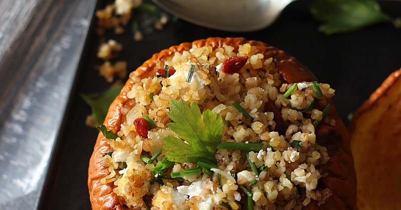 ... Pumpkin and Bulgur Wheat salad #healthy #pumpkin #autumn #lowGI