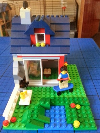 LEGO Creator 31009 Small Cottage 3in1 big garden and barbeque