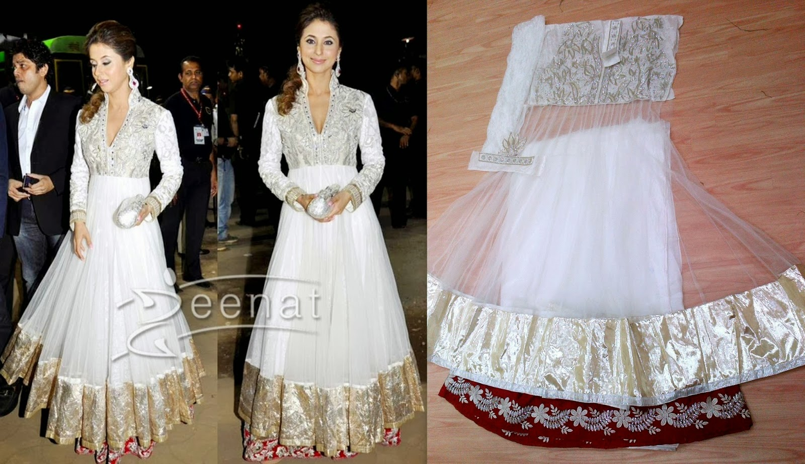 Bollywood Replicas anarkali suits designe replica suits ...