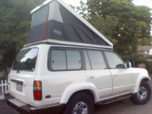 80 series tent on roof