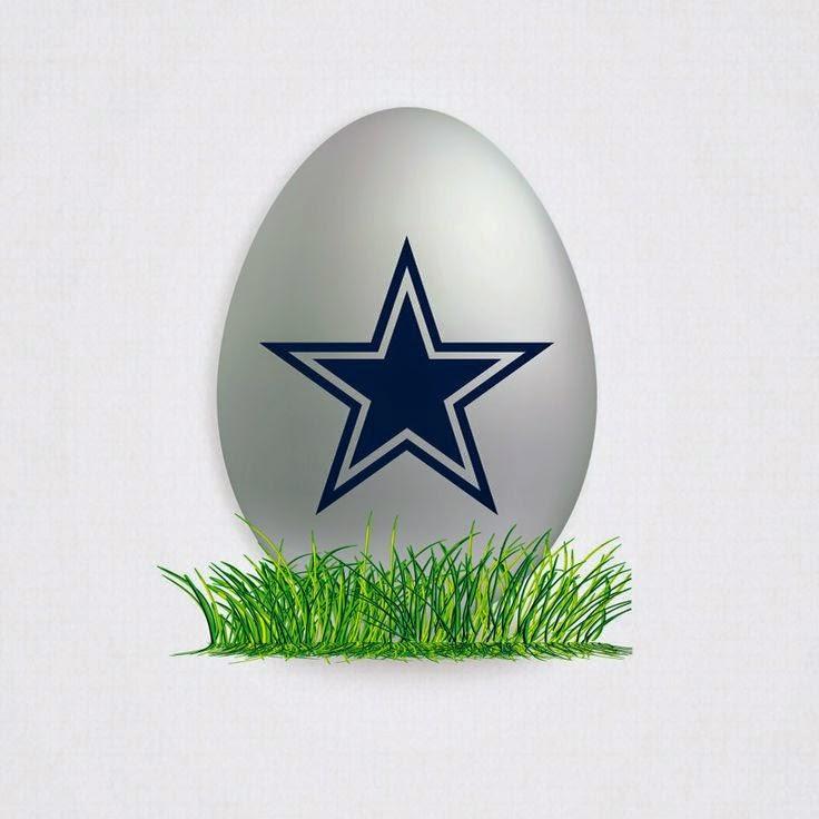 Dallas Cowboys Easter egg