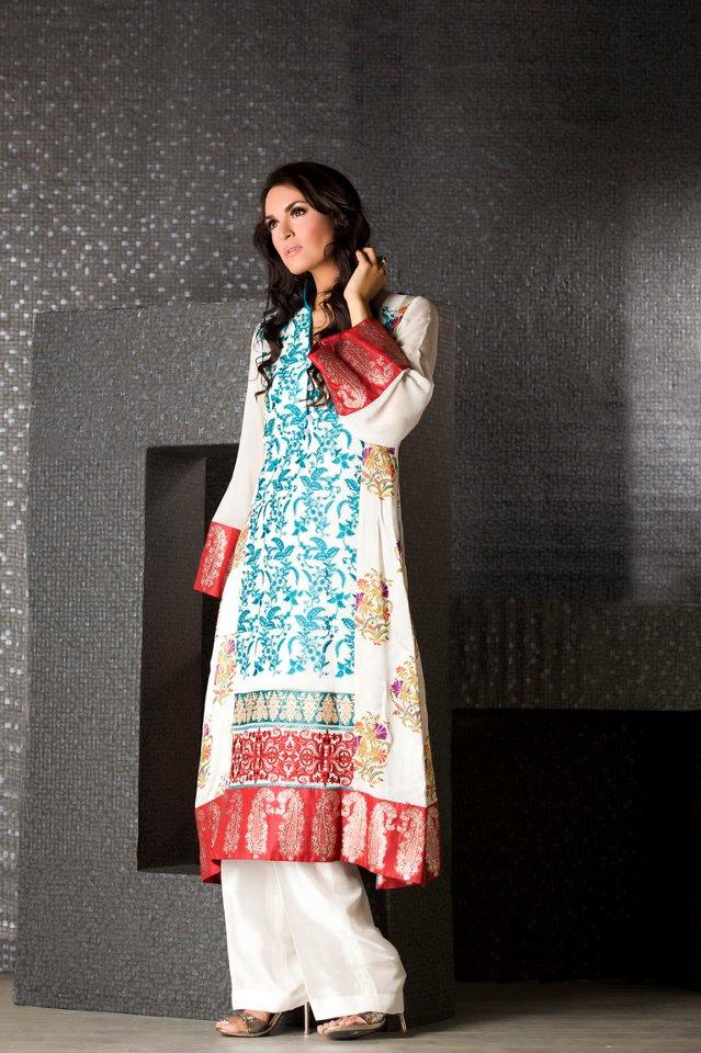 Latest Fashion in Pakistan Dress