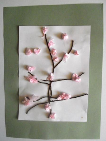 Cherry Blossom Craft Preschool