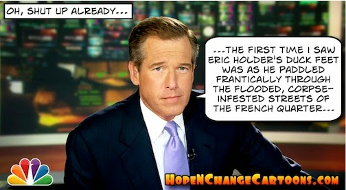 obama, obama jokes, political, humor, cartoon, conservative, hope n' change, hope and change, stilton jarlsberg, brian williams, lie, french quarter, holder