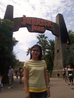 Osaka Universal Studios Japan Jurassic Park