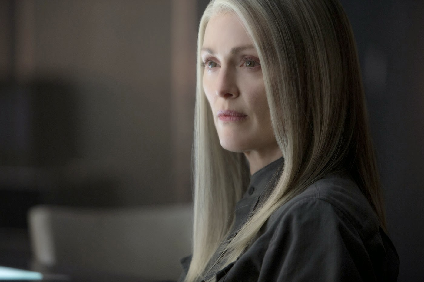 Julianne Moore in The Hunger Games: Mockingjay part 1