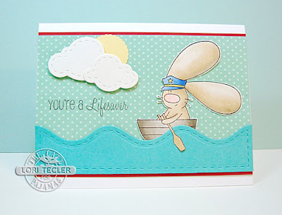 You're a Lifesaver card-designed by Lori Tecler/Inking Aloud-stamps and dies from The Cat's Pajamas