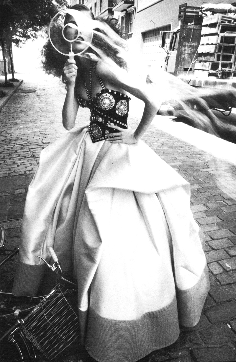 Meghan Douglas in Vogue Italia September 1992 | Steven Meisel via Fashioned by Love
