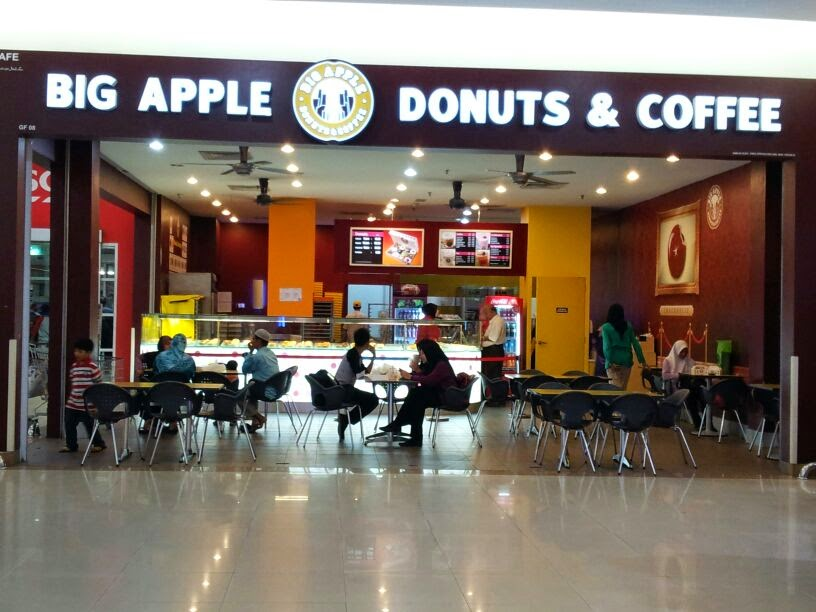 Donut Big Apple di Tesco Kota Bharu, donut big apple, donut gebu big apple, harga donut big apple, perisa donut big apple yang paling sedap,