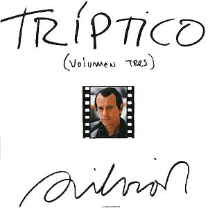 Carátula de Tríptico volumen tres (1984)