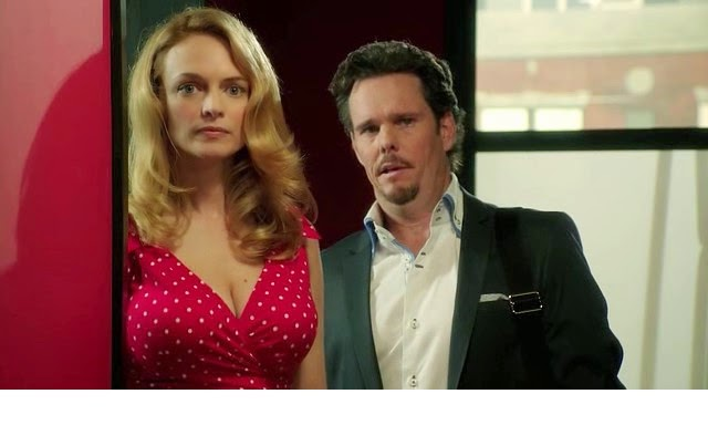 Heather Graham and Kevin Dillon in Compulsion by oceans movie reviews