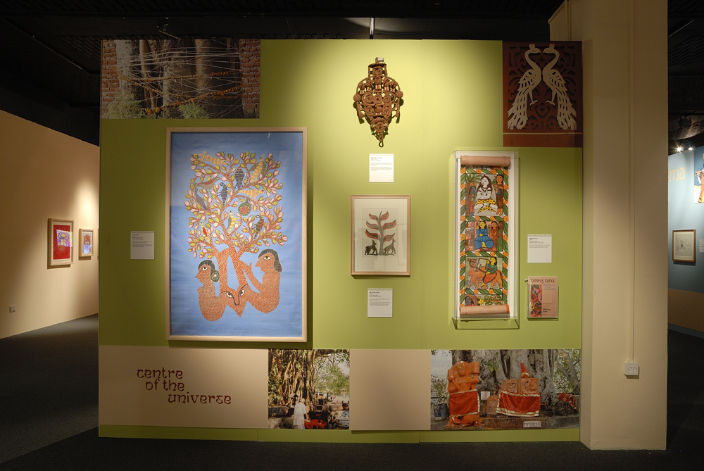 INDIA - ART FROM THE HEART: Telling Tales : Folk and Tribal Art Show ...