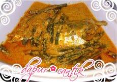 resep masakan gulai ikan kembung dapur cantik