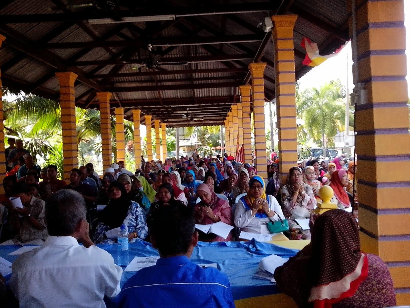 Mesyuarat Agong UMNO Cawangan Medan Jaya sesi  2013 -2016