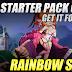 Rainbow Saga, Free Starter Pack Code