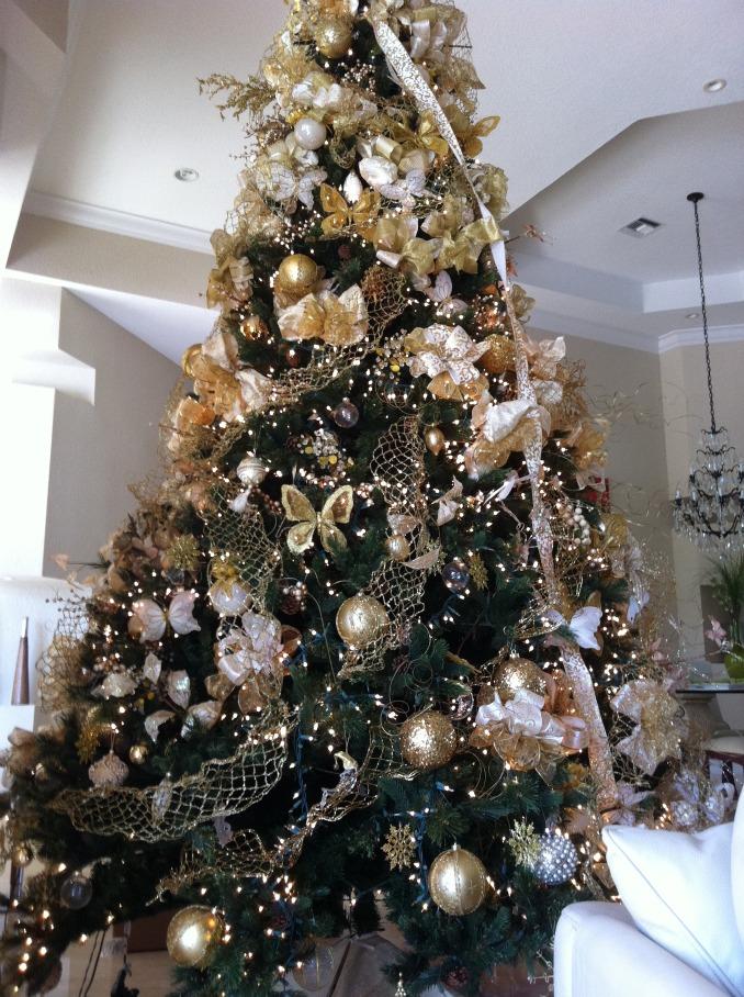 Merry butterflies arbol de navidad - Como decorar un arbol de navidad ...
