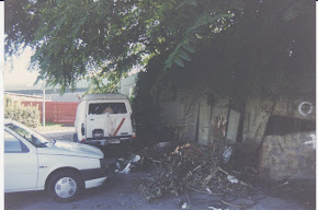 il degrado della zona anni 90