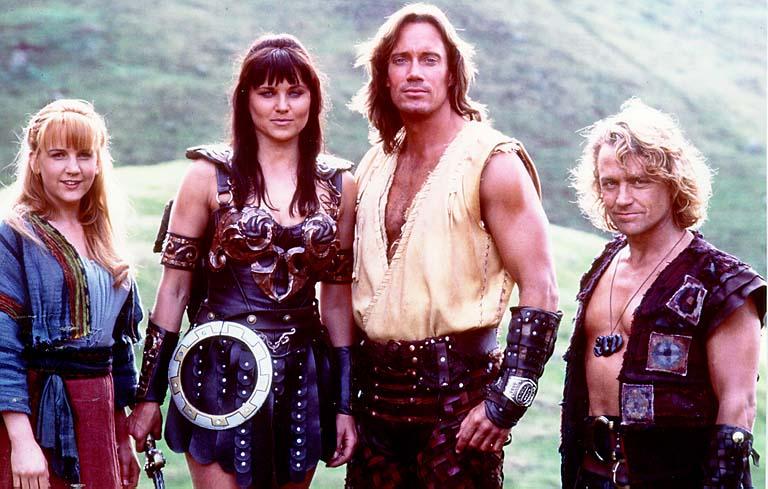 Xéna es Herkules Gabrielle-lel es Iolaus-szal
