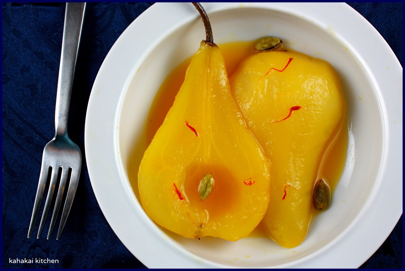 poached pears with most people have a romantic this poached pear ...