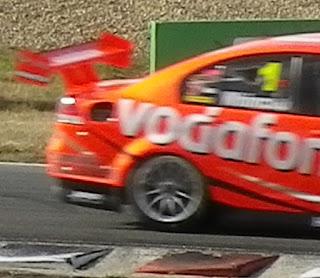 VODAFONE RACE CAR