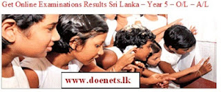 A/L Results Relesed www.doenets.lk/exam