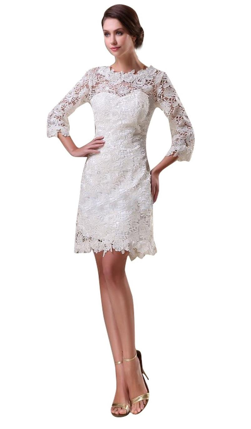Short White Lace Wedding Dresses, Short Lace Reception Dress, Short Lace Beach Wedding Dresses, Lace Wedding Shorts, Short Vintage Lace Wedding Dresses, Short Lace Country Wedding Dresses, Cheap Short Lace Wedding Dresses, Lace Short Dresses