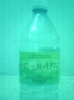 Air Minuman Bertapis Zaafaran (saffron) yang Dibaca 30 Juzuk Al-Quran oleh Pelajar-pelajar Tahfiz